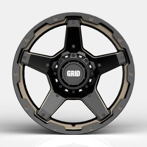 Grid-GD04-Gloss-Black-with-Double-Dark-Tint-Milling