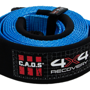 CAOS 10T TREE SAVER WINCH EXTENSION EQUALIZER STRAP 75MM X 5M (BLUE)