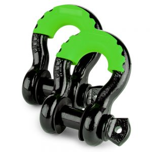 CAOS-2PCS-SHACKLE-PROTECTOR-AND-4-ISOLATORS-–-GREEN-1