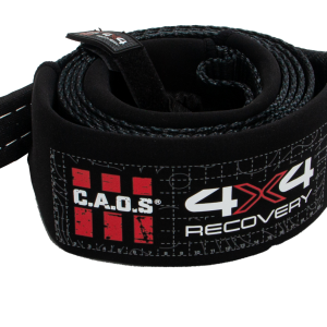 CAOS 8T TREE SAVER WINCH EXTENSION EQUALIZER STRAP 75MM X 3M (BLACK)