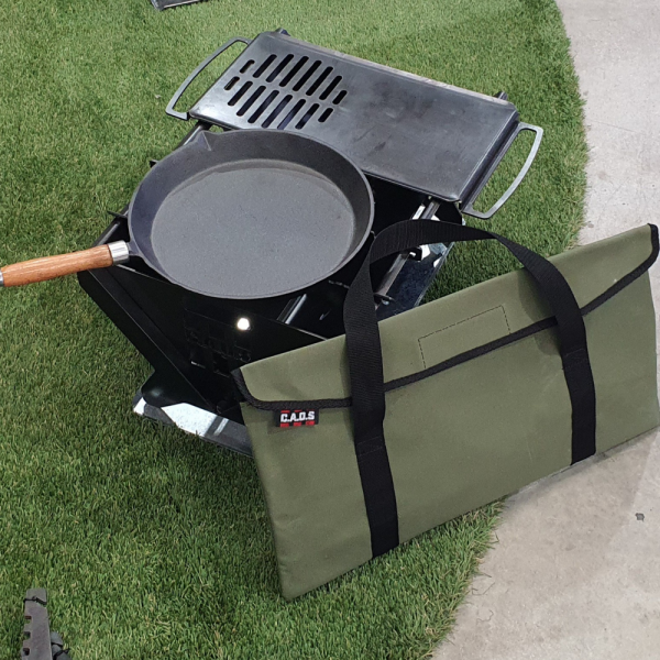 CAOS FIRE PIT MKII WITH GRILL
