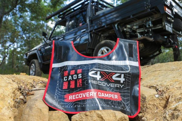 CAOS RECOVERY DAMPER (BLACK WITH ORANGE)