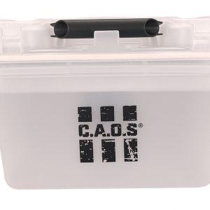 CAOS STORAGE CARRY BOX PLASTIC (SEMI CLEAR) 38 X
