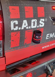 CAOS STUBBY COOLER WITH MAGNET