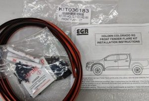 Fitting Kit - Holden RG Colorado Front Flares