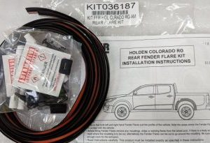 Fitting Kit - Holden RG Colorado Rear Flares