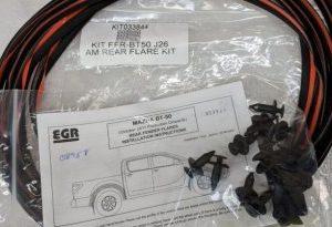 Fitting Kit - Mazda BT50 2011- Rear Flares