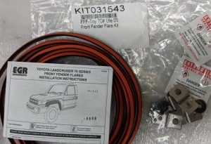 Fitting Kit - Toyota LandCruiser LC70 Ute 2009- Front Flares