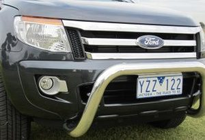 Ford PX Ranger Series 1 Low Loop Alloy Nudge Bar
