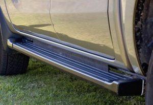 Ford PX Ranger Side Steps - Black