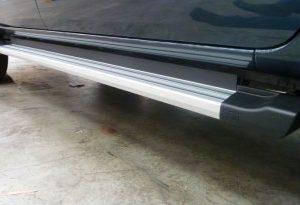 Ford PX Ranger Side Steps - Silver