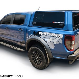 Ford raptor colour coded canopy