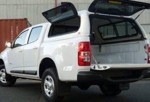 HOLDEN COLORADO LIFT UP WINDOW CANOPY||TOYOTA HILUX SLIDING WINDOW CANOPY