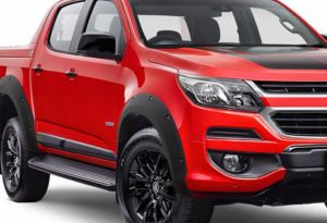 Holden RG Colorado 2016-20 Bolt Style Flares - Full Set