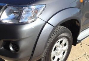 Toyota Hilux 2011~Aug15 Front Flares