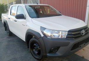 Toyota Hilux 2015~ Narrow Body Fender Flares
