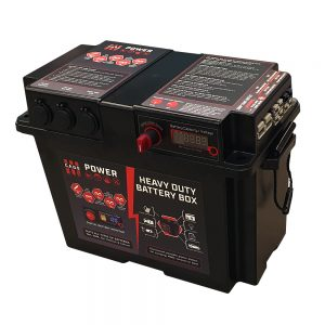 CAOS POWER HEAVY DUTY DC BATTERY BOX WITH 50AMP (WITHOUT VSR)