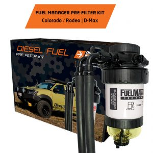 FUEL MANAGER PRE-FILTER KIT COLORADO - RODEO - D-MAX||FUEL MANAGER PRE-FILTER KIT COLORADO -RODEO - D-MAX 1