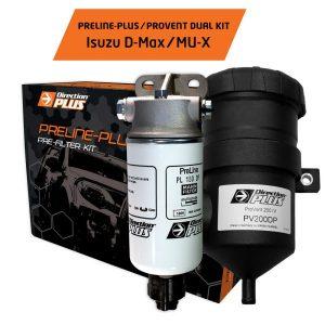 PRELINE-PLUS PROVENT DUAL KIT D-MAX MU-X||PRELINE-PLUS PROVENT DUAL KIT D-MAX MU-X 1
