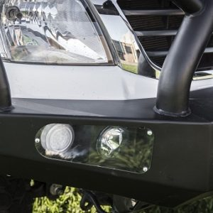 Toyota Hilux 05-15 bull bar - triple hoop - black powder coated